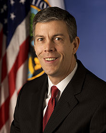 US Secreatary of Education Arne Duncan